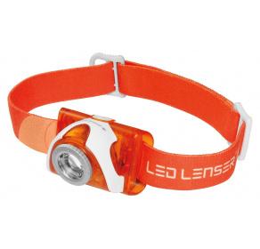 Latarka czołowa Ledlenser SEO3 Orange