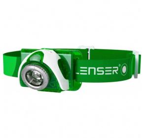 Latarka czołowa Ledlenser SEO3 Green