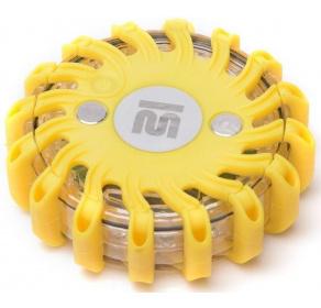 Dysk sygnalizacyjny Mactronic yellow + ładowarka