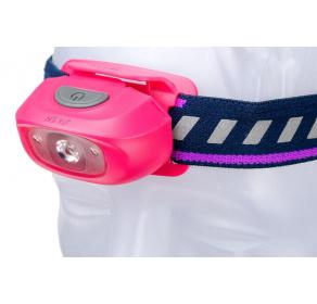 Latarka czołowa Fenix HL16 (pink) - dla dzieci