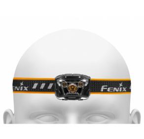 Latarka czołowa Fenix HL18R - czarna