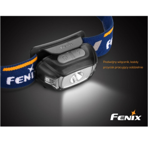 Latarka diodowa Fenix HL15 niebieska