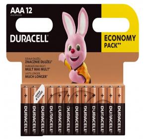 Bateria alkaliczna Duracell Basic LR03 / AAA x 12