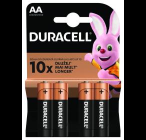 Bateria alkaliczna Duracell Basic Duralock AA / LR6 C&B x4
