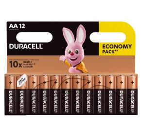 Bateria alkaliczna Duracell Basic AA / LR6 x12