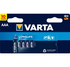 Bateria alkaliczna Varta Longlife Power AAA / LR03 x10