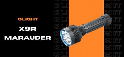 Olight X9R Marauder - najmocniejsza latarka?